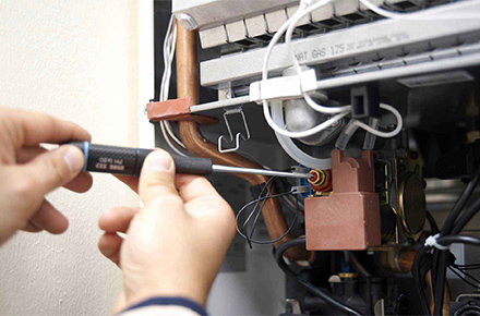 Техническое обслуживание газовых котлов и водонагревателей